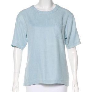 Thakoon Addition Twill Short Sleeve Top